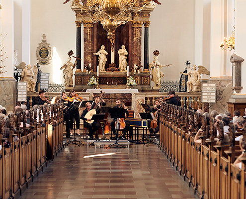 Arte Dei Suonatori koncertopstilling